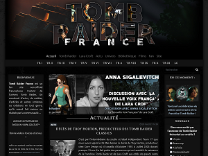 Site Tomb Raider France